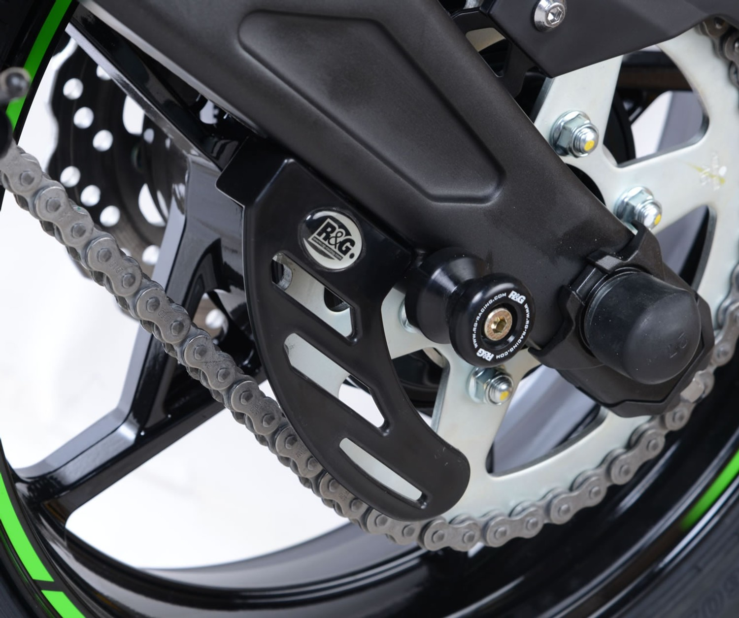 R/&G Bike Swing Arm Protectors For BMW 2008 K1200 R