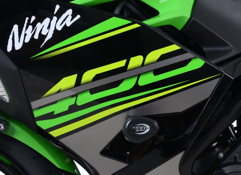 250 2012 /> FRAME SLIDERS BOBBINS FOR KAWASAKI NINJA 300 R/&G AERO CRASH PADS