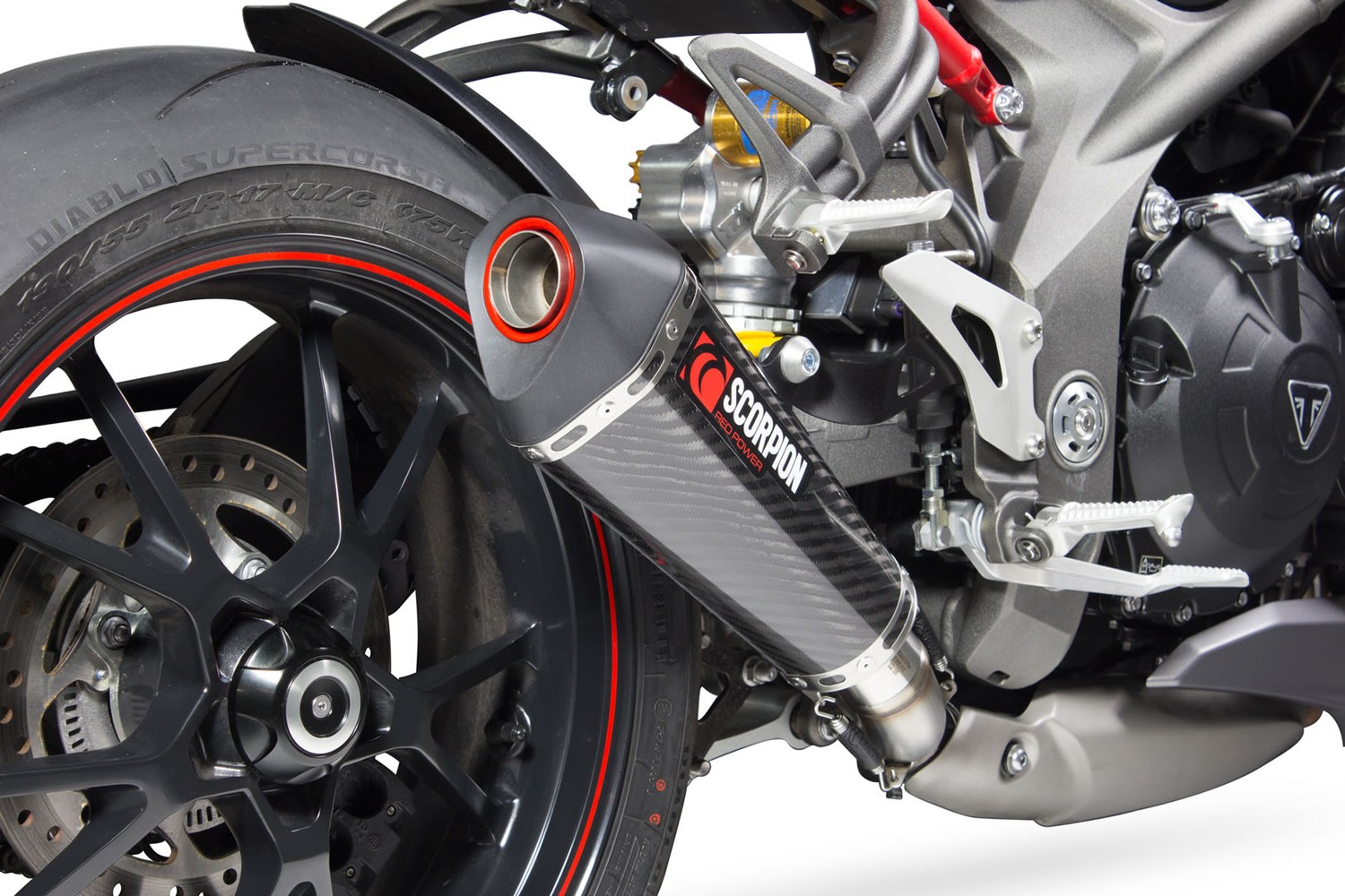 Scorpion Exhaust for Triumph Speed Triple S/R '16-