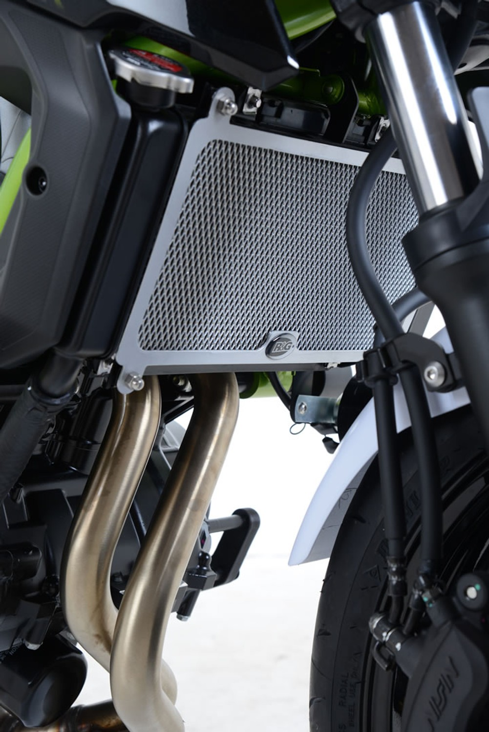 R&G Radiator Guard for Kawasaki Z650 '17- and Ninja 650 '17