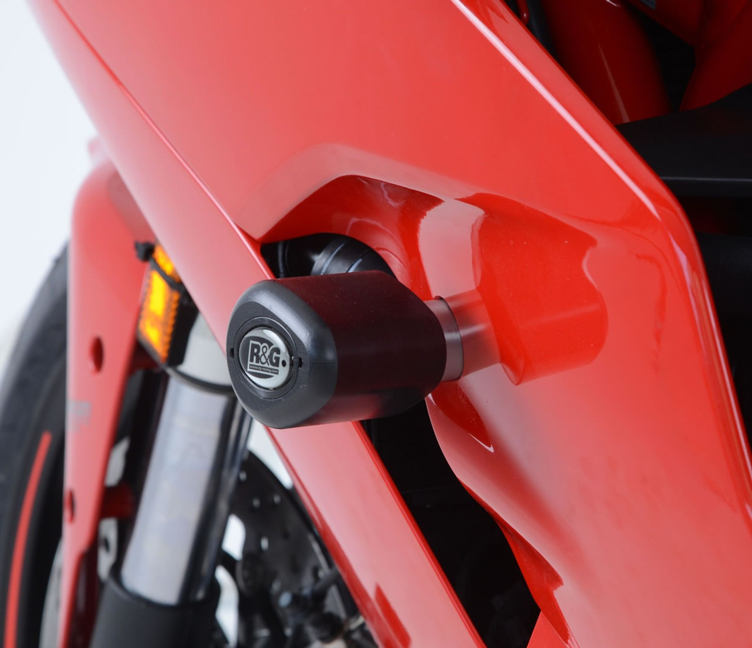 All Years R/&G Crash Protectors Classic Style for Ducati 999 Black