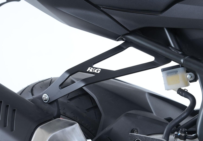 Rg Exhaust Hanger For The Honda Cbr250rr 17 Eh0075bk Hand Guard New Cbr 250rr