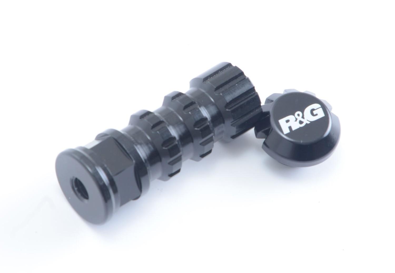 Rearset Short Racing Peg for R&G Adjustable Rearsets - RP0003BK