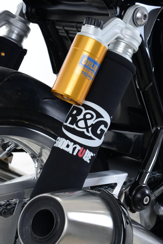 R/&G Shocktube Triumph Speed Triple 2013 Waterproof Shock Absorber Protector