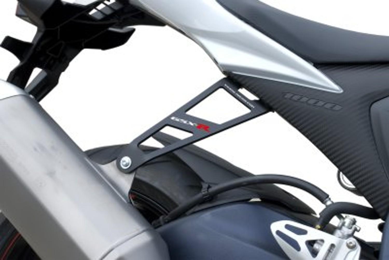 R/&G RACING BLACK EXHAUST HANGER SUZUKI GSX-R1000 2013