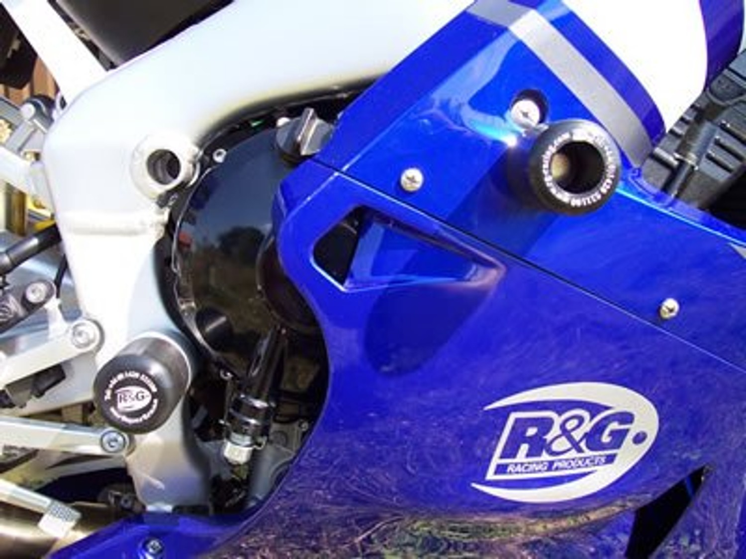 R/&G Crash Protectors In Black For Yamaha 2012 YZF-R6
