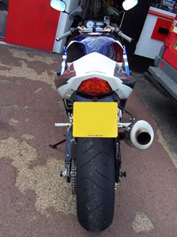 Paddock Stand BM Suzuki GSX-R 1000 03-04 Front Rear