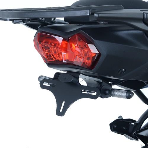 Licence Plate Holder Kawasaki Z750S 2007 LP0048BK Black R/&G Tail Tidy