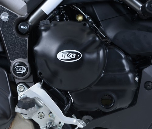 R/&G RACING SHOCKTUBE REAR SHOCK ABSORBER PROTECTOR Ducati HyperStrada 821 2014