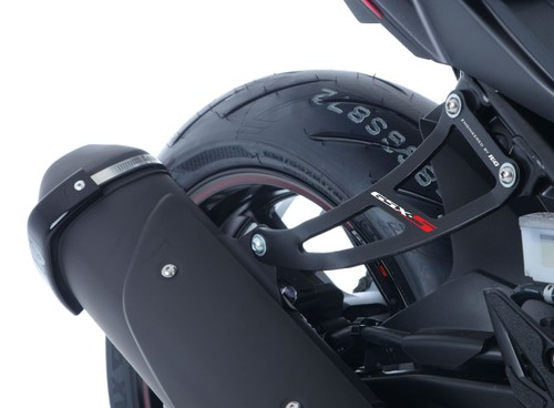 R/&G Black Exhaust Hanger For Suzuki 2006 GSX-R1000 K6