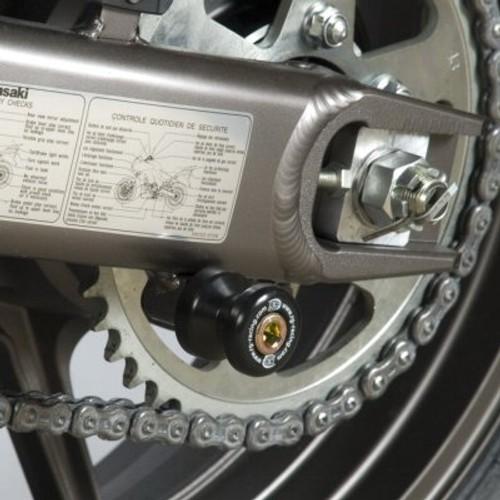 Kawasaki Vulcan S 2015-2017 R/&G Racing black cotton reels paddock stand bobbins