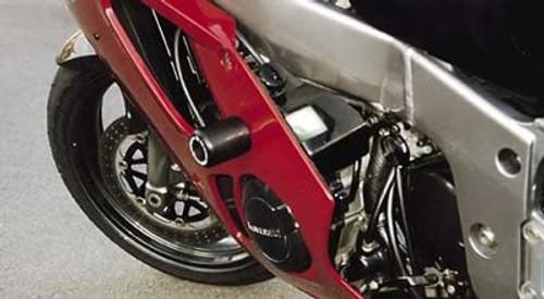 Kawasaki ZX6R Ninja front brake caliper stainless pad pins 2001 2002 A1P ZX636