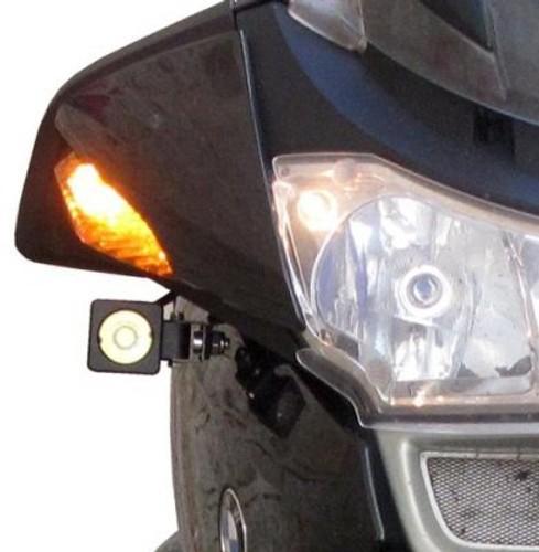 Denali Auxiliary Headlight Mounting Kit for Honda XL1000V Varadero