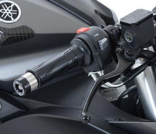 R/&G RACING BAR END SLIDERS END WEIGHTS ONE PAIR Yamaha YZF R125 2009-2010