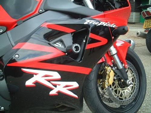 R/&G Black Crash Protectors For Honda 1999 CBR900RR-X Fireblade